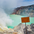 Stock Photo: Kawah Ijen volcano, Java, Indonesia