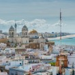 Panorama of Cadiz, Spain — Stock Photo
