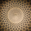 Stock Photo: Dome of mosque, oriental ornaments from Isfahan, Iran
