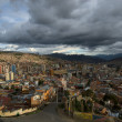 Royalty-Free Stock Photo: Panoramic view of La Paz, Bolivia