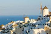Oia dorp op santorini eiland, griekenland — Stockfoto