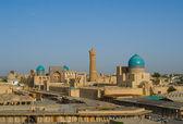 Panorama de Bucara, Uzbequistão — Fotografia Stock