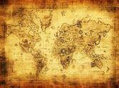 Ancient map of the world — Photo