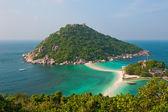 Nang Yuan Island, Koh Tao, Thailand — Stock Photo