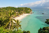 Diniwid beach, Boracay Island, Philippines — Stock Photo