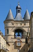 Grosse cloche de Bordeaux, Great Bell of Bordeaux, France — Stock Photo