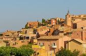 Provencal village of Roussillon — Stock Photo