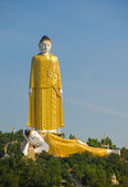 Giant Standing and Reclining Buddhas, Monywa, Myanmar — Stock Photo