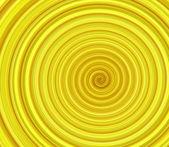 Yellow swirl background — Stock Photo