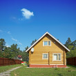 Wooden house — Stock Photo #9376011