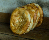 Traditional uzbek flatbread — Foto Stock