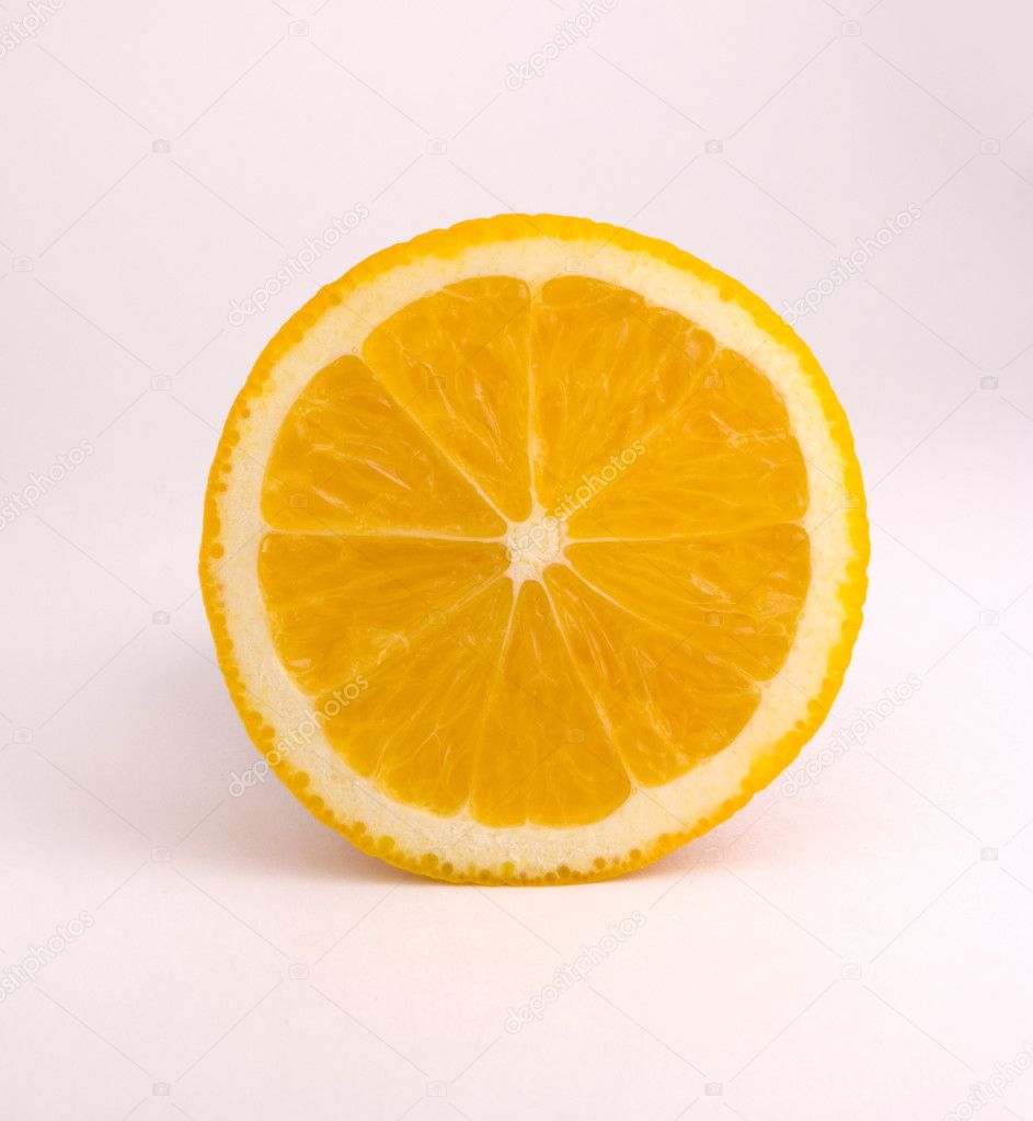 Slice of juicy orange — Stock Photo #9388230