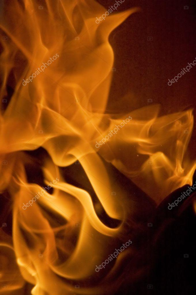 火焰纹理– 图库图片