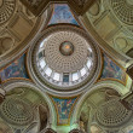 Dome of Pantheon, Paris, France — Stock Photo