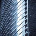 Windows of office buildings — Stock Photo #9429053