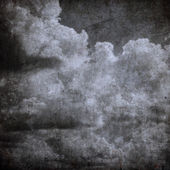 Grunge cloudy sky, perfect halloween background — Stock Photo