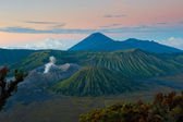 Bromo volcano at sunrise, Java, Indonesia — Stock Photo