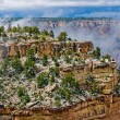 Panorama of Grand Canyon, Arizona, USA - Stock Photo