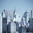 Panorama of manhattan, new york — Stock Photo #9430972
