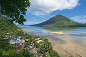 Gunung Api volcano, Banda islands, Indonesia — Stock Photo