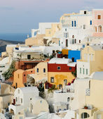 Oia village at Santorini island, Greece — Stock Photo