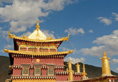 Songzanlin tibetan monastery, shangri-la, china — Stock Photo
