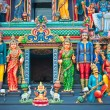 Sri Mariamman Temple, Singapore's oldest Hindu temple — Stock Photo