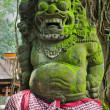 Statue of Balinese demon in Ubud — Stock Photo