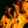 Stock Photo: Flame - perfect background of fire