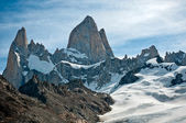 Fitz Roy mountain and Laguna de los Tres, Patagonia, Argentina — Stock Photo