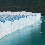 Perito moreno gletscher, patagonia, Argentinië — Stockfoto #9465694
