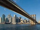 Brooklyn bridge, new york, usa — Stockfoto