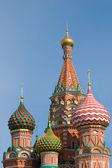 聖ワシリイ大聖堂、赤の広場、モスクワ、ロシア — ストック写真
