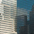 Windows of office buildings — Stock Photo
