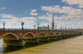 Pont de pierre, Bordeaux, France — Stock Photo