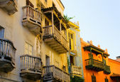 Streets of Cartagena, Colombia — Stock Photo