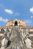 Ancient buddhist temple, Chiang Mai, Northern Thailand — Stock Photo
