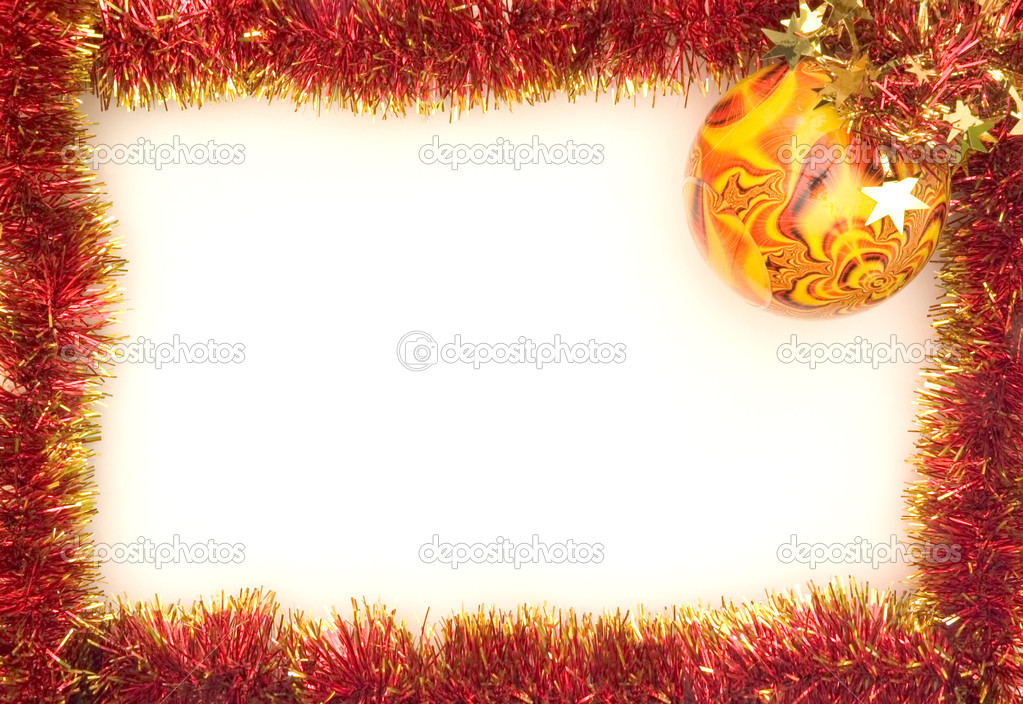 Christmas Frame — Stock Photo #9474116