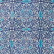 Tiled background, oriental ornaments from Uzbekistan Tiled backg — Stock Photo #9500822