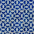 Tiled background, oriental ornaments from Uzbekistan Tiled backg — Stock Photo #9500863
