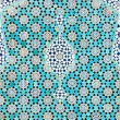 Tiled background, oriental ornaments from Isfahan Mosque, Iran — Lizenzfreies Foto