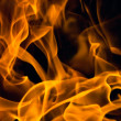 Stock Photo: Fire background