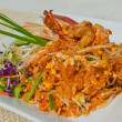 Royalty-Free Stock Photo: Pad Thai, Stir fry noodles with shrimp, traditional Thai dish