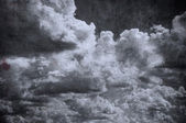 Céu nublado de grunge, cenário perfeito de halloween — Foto Stock