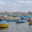 Stock Photo: View of Alexandriharbor, Egypt
