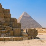 Pyramids of Giza, Cairo — Stock Photo