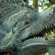 Sculpture of naga – mythical creature in eastern mythology — 图库照片