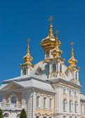 Grand palace, Petergof, Russia — Stock Photo