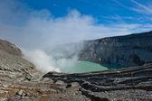 Kawah Ijen volcano, Java, Indonesia — Stock Photo