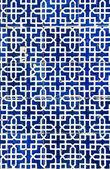 Tiled background, oriental ornaments from Uzbekistan Tiled backg — Stock Photo